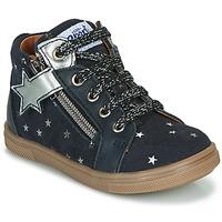 Schoenen Meisjes Hoge sneakers GBB VALA Marine