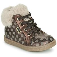 Schoenen Meisjes Hoge sneakers GBB JUNA Bruin