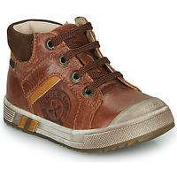 Schoenen Jongens Hoge sneakers GBB OLANGO Bruin
