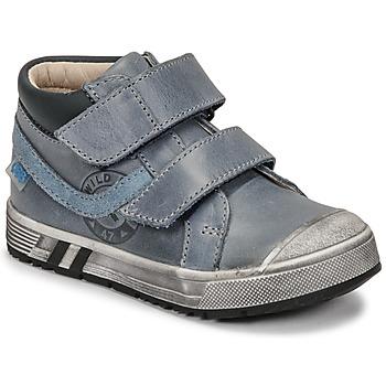 Schoenen Jongens Hoge sneakers GBB OMALLO Blauw