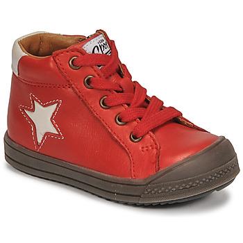 Schoenen Jongens Hoge sneakers GBB KASSIO Rood