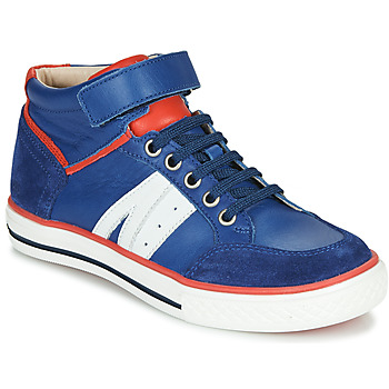 Schoenen Jongens Hoge sneakers GBB ALIMO Blauw