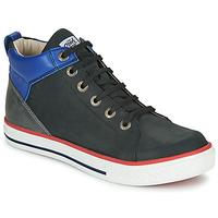 Schoenen Jongens Hoge sneakers GBB MERINO Zwart