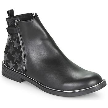 Schoenen Meisjes Laarzen GBB XIANA Zwart
