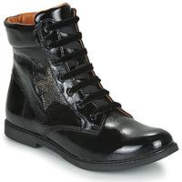 Schoenen Meisjes Laarzen GBB JAMILA Zwart