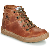 Schoenen Jongens Hoge sneakers GBB KELIG Bruin