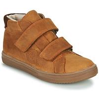 Schoenen Jongens Hoge sneakers GBB NAZAIRE Bruin