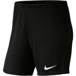 Textiel Dames Korte broeken / Bermuda's Nike Park III Knit Short NB Women Schwarz