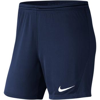 Textiel Dames Korte broeken / Bermuda's Nike Park III Knit Short NB Women Blau