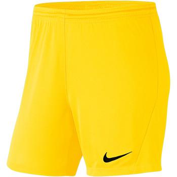 Textiel Dames Korte broeken / Bermuda's Nike Park III Knit Short NB Women Gelb