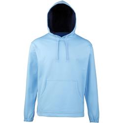 Textiel Jongens Sweaters / Sweatshirts Rhino RH70B Sky/Navy
