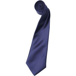Textiel Heren Stropdassen en accessoires Premier Satin Marine