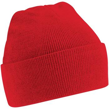 Accessoires Kinderen Muts Beechfield B45B Klassiek rood