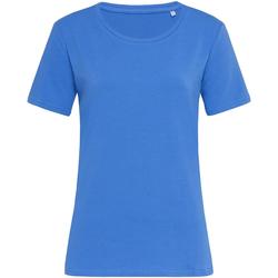 Textiel Dames T-shirts korte mouwen Stedman Stars  Blauw