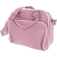 Tassen Kinderen Schooltassen Bagbase BG145 Klassiek Roze/Lichtgrijs