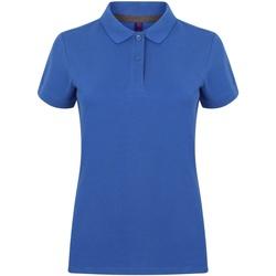 Textiel Dames Polo's korte mouwen Henbury HB102 Koninklijk