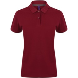 Textiel Dames Polo's korte mouwen Henbury HB102 Bourgondië
