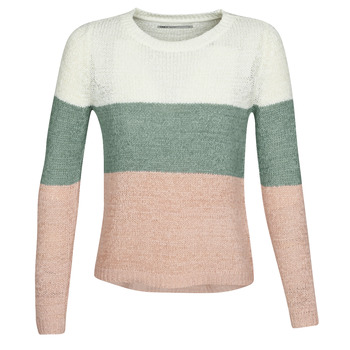 Textiel Dames Truien Only ONLGEENA Beige / Roze
