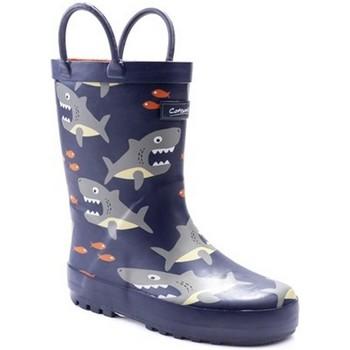 Schoenen Jongens Regenlaarzen Cotswold  Haai