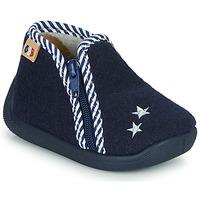 Schoenen Kinderen Sloffen GBB KITRA Blauw