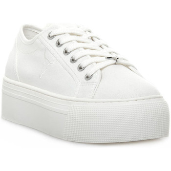 Schoenen Dames Lage sneakers Windsor Smith RUBY CANVAS WHITE Bianco