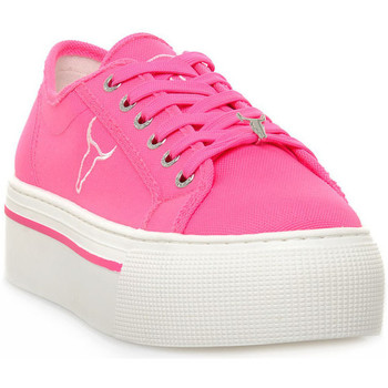 Schoenen Dames Lage sneakers Windsor Smith RUBY CANVAS NEON PINK Rosa