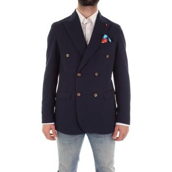 Textiel Heren Jasjes / Blazers Mulish ASTONMARTIN-GKS907 Blu