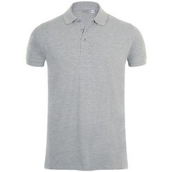 Textiel Heren Polo's korte mouwen Sols PHOENIX MEN SPORT Gris