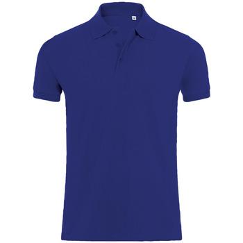Textiel Heren Polo's korte mouwen Sols PHOENIX MEN SPORT Azul