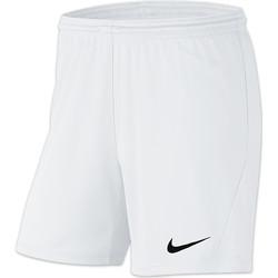 Textiel Dames Korte broeken / Bermuda's Nike Park III Knit Short NB Women Weiss
