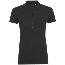 Textiel Dames Polo's korte mouwen Sols PHOENIX WOMEN SPORT Negro