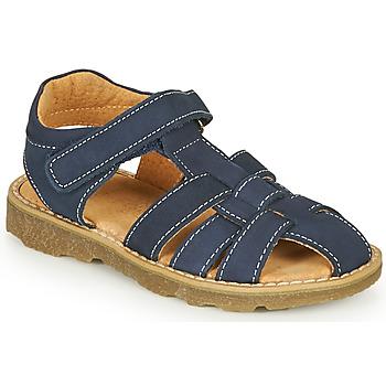 Schoenen Jongens Sandalen / Open schoenen André TURTLE Marine