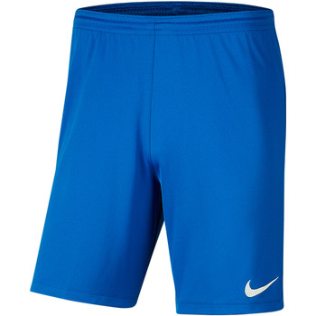 Textiel Heren Korte broeken / Bermuda's Nike Park III Knit Short NB Blau