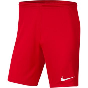 Textiel Heren Korte broeken / Bermuda's Nike Park III Knit Short NB Rot
