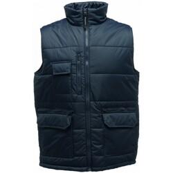 Textiel Heren Dons gevoerde jassen Regatta  Marine