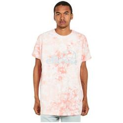Textiel Heren T-shirts korte mouwen Ellesse T-shirt  Starezzo rose pâle/blanc