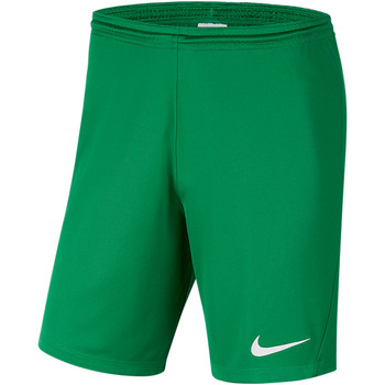 Textiel Heren Korte broeken / Bermuda's Nike Park III Knit Short NB Grün