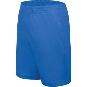 Textiel Kinderen Korte broeken / Bermuda's Proact Short enfant Jersey  Sport bleu marine