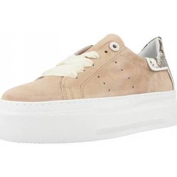 Schoenen Dames Lage sneakers Alpe 4639 12 Bruin