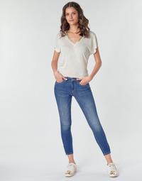 Textiel Dames Cargobroek Only ONLKENDELL Blauw / Medium