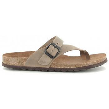 Schoenen Dames Sandalen / Open schoenen Interbios 7119 taupe Beige