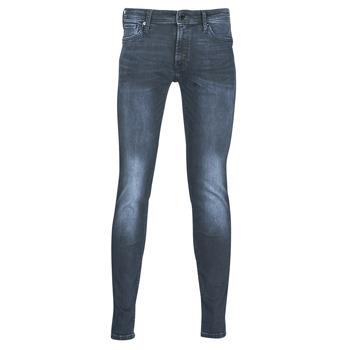 Textiel Heren Skinny jeans Jack & Jones JJILIAM Blauw / Donker