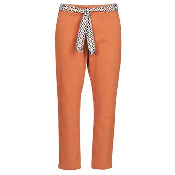 Textiel Dames Chino's Vero Moda VMSVEA Oranje