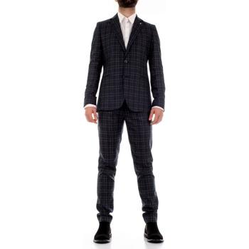 Textiel Heren Kostuums Mulish CBR-AB7200Q Blu