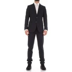 Textiel Heren Kostuums Mulish 50SPECIAL-AB7200 Blu