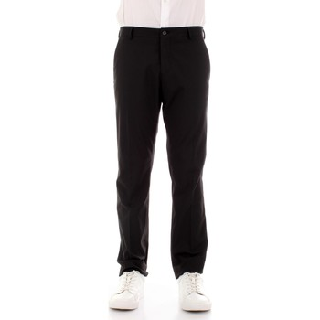 Textiel Heren Pantalons Selected 16051390 Nero