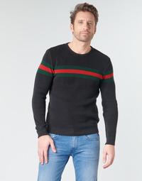 Textiel Heren Truien Casual Attitude BAOLI Zwart