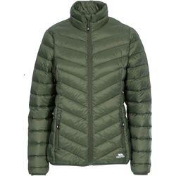 Textiel Dames Dons gevoerde jassen Trespass Valentina Groen