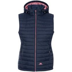 Textiel Dames Vesten / Cardigans Trespass Aretha Donkerblauw met roze accent