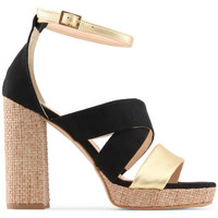 Schoenen Dames Sandalen / Open schoenen Made In Italia - ofelia Zwart